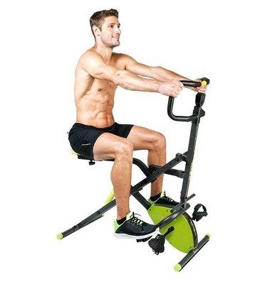 【Fitek健身網】深蹲騎馬健腹機+磁控車☆效果比 飛輪伸展健身機 更好☆手腳運動/腹肌鍛鍊/腰部伸展