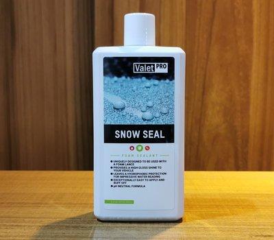 Valet PRO SNOW SEAL 雪泡封體 水鍍膜 500ml