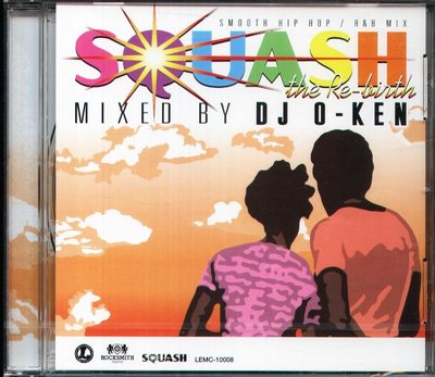 K - SQUASH - 日版 - NEW JANET JACKSON DJ O-KEN SOUL II SOUL LL