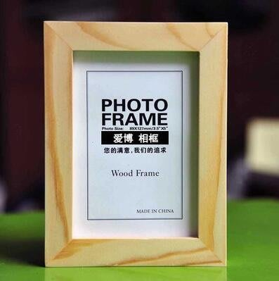 【可樂生活】相框 實木相框擺臺掛墻7寸5 6 8 10 A4 16寸創意木質相架照片畫框-免運費