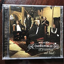 One Republic Dreaming Out Loud CD Apologize Come Home