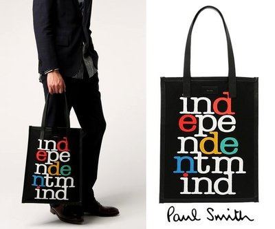 Paul Smith  托特包 手提包 肩背包 中性款 100%全新正品 特價!