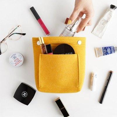 ♀高麗妹♀韓國 Invite.L Compact bag in bag 幸福滿荷 小巧收納包/包中包(2色選)預購