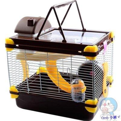 Candy 小鋪ヾ倉鼠籠 倉鼠籠子 夢幻大城堡 小套餐的鼠籠別墅 超大套裝 透明大號窩