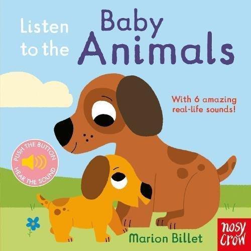 *小貝比的家*LISTEN TO BABY ANIMALS/硬頁/0~2歲/聲音書