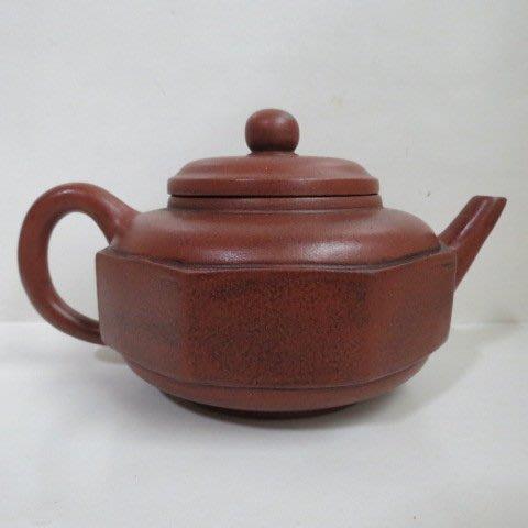 [ 廣緣-茶壺 ] 單孔  朿金壽六角茶壺  ** 可議價 **