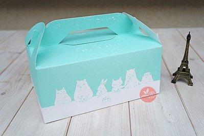 5K手提野餐盒_薄荷冰沙_2入_BPAX301◎9K.手提.野餐盒.蛋糕.餅乾.麵包.甜點.點心.包裝.薄荷冰沙