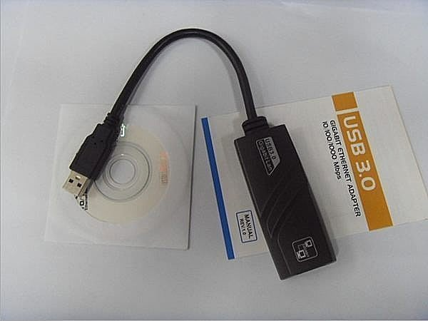 USB 3.0 千兆 網路卡 最高等級 藍孔規格 GB千兆網卡 RJ45 新品盒裝 桌上型電腦 筆電都適用