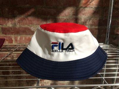 Fila-斐樂-漁夫帽-復古-男女通用-急單專區-當天下單最快隔天可收到