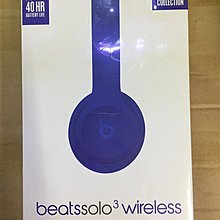 Beats by Dr. Dre Neighborhood Collection Solo3 Wireless Headphone Blue