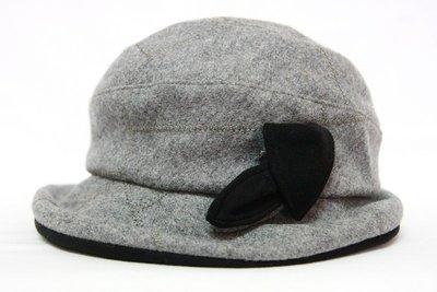 【古物箱~霹靂膠囊】日本製 英式 羊毛料 小禮帽(二手 古著 老件 vintage)