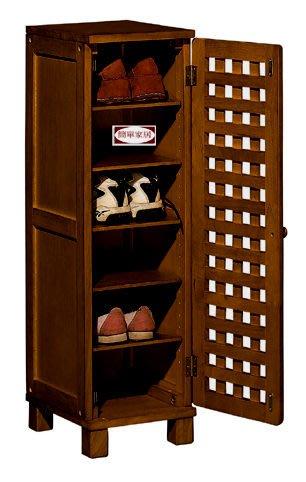 [自然傢俱坊]-松河-潘朵拉(寬30)透氣鞋櫃-CY-8453(規格W30*D35*H105) [自行組立]