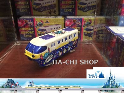 [泇錤小鋪]~日本Disney迪士尼2015期間限定販售 TOMICA 多美小汽車 史迪奇單軌電車造型小車 現貨