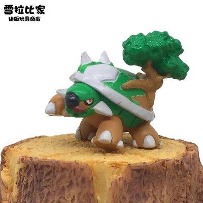 神奇寶貝 Pokemon Go 寵物小精靈神奇寶貝口袋妖怪玩具擺件萬代clipping食玩 土台龜