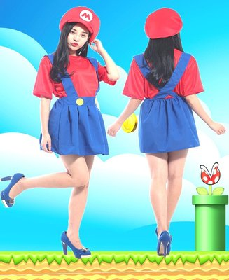 Party Decoration Super Mario Dress Cosplay Halloween costume
