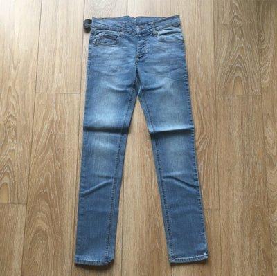 CHEAP MONDAY 瑞典 Narrow soft light blue 低腰窄管鉛筆 淺藍牛仔褲 現貨282930