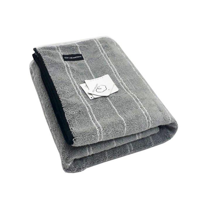 MORINO 時尚機能~ 【MORINO摩力諾】美國棉前漂色紗條紋浴巾--免運