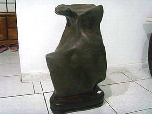 [ 綺緣精品 ] 雅石 - 彩陶--袋鼠 -- 重約:30kg