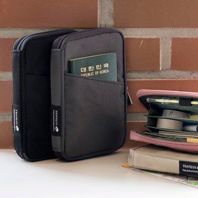 好心情日韓正品雜貨『韓國 fulldesign』TRAVELUS Pocket 多功能錢包存摺包(4款)