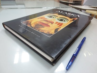 A18-1bc☆1995年出版『ALASKA』Miller 等著《LIMITED FIRST EDITION》~精裝~