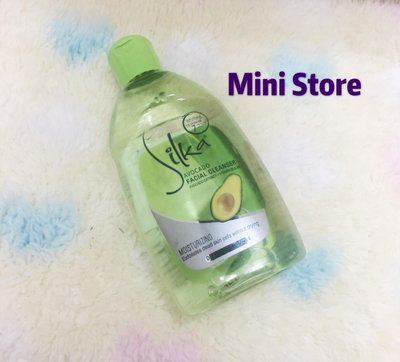SILKA AVOCADO FACIAL CLEANSER酪梨洗臉水150g