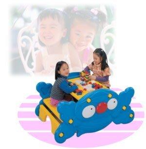 【推薦+】造型兩用桌(書桌+搖搖椅)P072-FU01兒童寫字桌椅子.遊戲桌.翹翹板.造型桌椅.小朋友桌椅傢俱