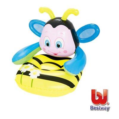 金潮派-Bestway。Q版蜜蜂31x35x31兒童充氣沙發75062(69-27849)