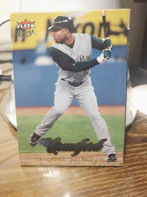 (記得小舖)MLB 2007 Carl Crawford 坦帕灣光芒 普卡2張