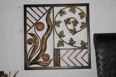 INPHIC-鏤空雕花工藝 復古鐵藝掛壁 鐵藝窗花