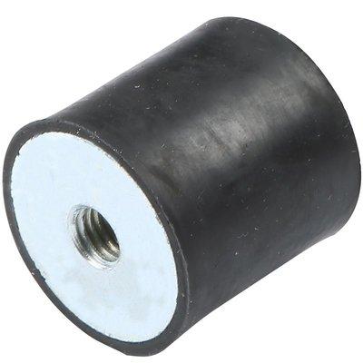 yoyo淘淘樂  M3M4M5M6M8DD型橡膠減震器發動機減震墊緩沖防震墊減震螺絲圓柱形(三件起購)