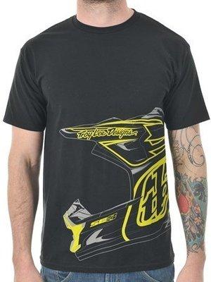 TroyLee Designs Black 2014 Sam Hill T-Shirt純棉半袖T恤 越野摩托車賽車機車服