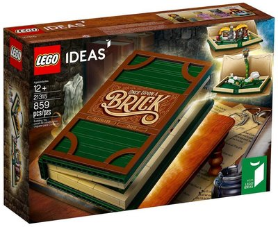 ?頂溪自取 全新現貨 21315 立體書 小紅帽 傑克與魔豆 樂高 Lego ideas系列 積木 禮物 正版 玩具