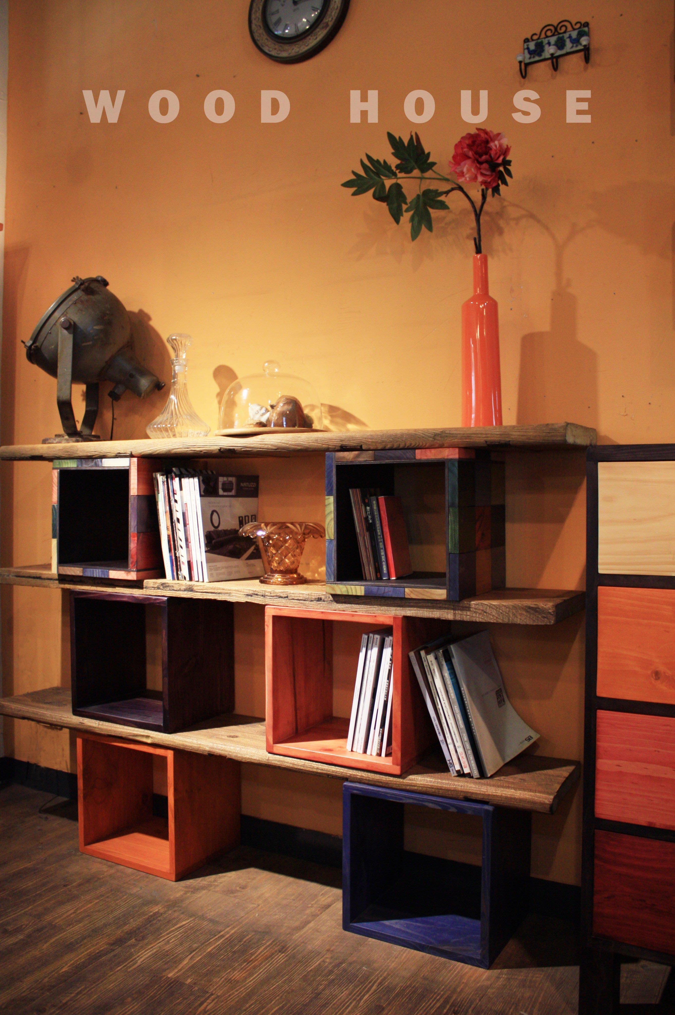 原木工坊~ 原木家具設計訂做  厚實原木小方箱