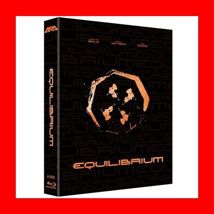 【BD藍光】重裝任務:幻彩盒限量版A款(中文字幕)Equilibrium蝙蝠俠黑暗騎士克里斯汀貝爾