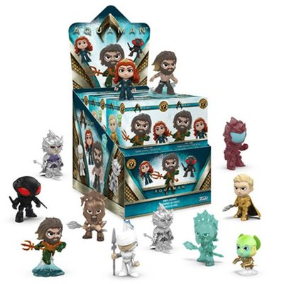 [Paradise]Mystery Minis Aquaman -assortment- 水行俠 神秘盒玩 - 隨機單抽