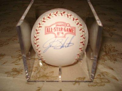 MLB 2004 ALL STAR GAME GIANTS ACE #29 JASON SCHMIDT 親筆簽名球