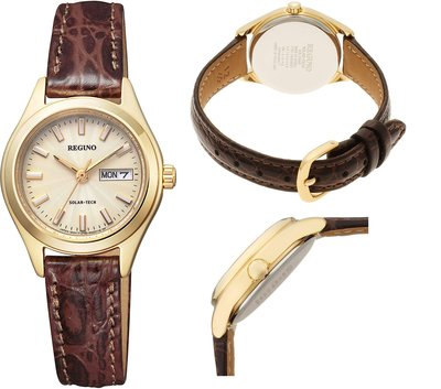 日本正版 CITIZEN 星辰 REGUNO KM2-021-30 女錶 手錶 太陽能充電 日本代購