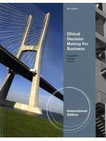 《Ethical Decision Making for Business 8/e》ISBN:0538451289