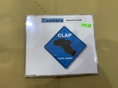 *還有唱片行*CAMISRA / CLAP YOUR HANDS 全新 Y9638 (69起拍)