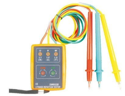 黑手五金 三相電壓 相序表 相序計 相序儀 相序儀 相序機