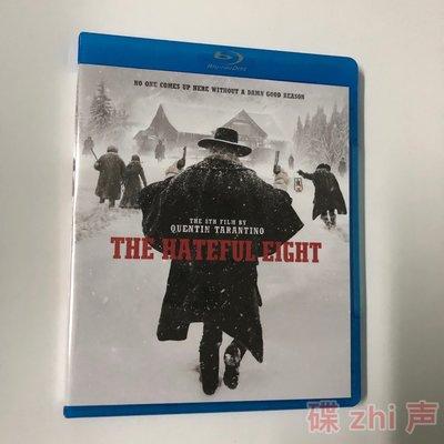 【環球影院】八惡人The Hateful Eight 昆汀導演電影 BD藍光碟1080P高清收藏版 精美盒裝