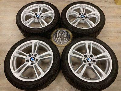 BMW 正原廠 369M 19吋前後配鋁圈含胎