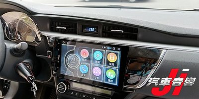 **Ji汽車音響**TOYOTA ALTIS 10.2吋android 8.1 安卓專用機 四核心 導航 WIFI上網