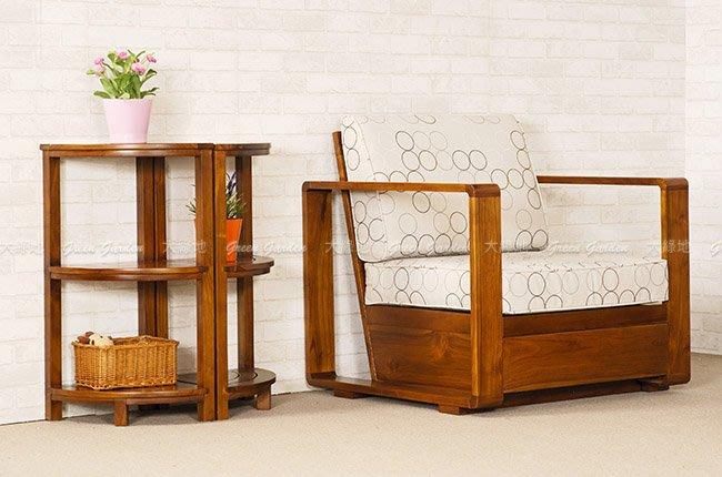 雙層 柚木角櫃 (經典) 【大綠地家具】100%印尼柚木實木/經典柚木/收納櫃/多格櫃/多功能/免組裝