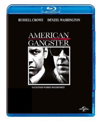 正版藍光BD《美國黑幫》丹佐華盛頓/American Gangster全新未拆