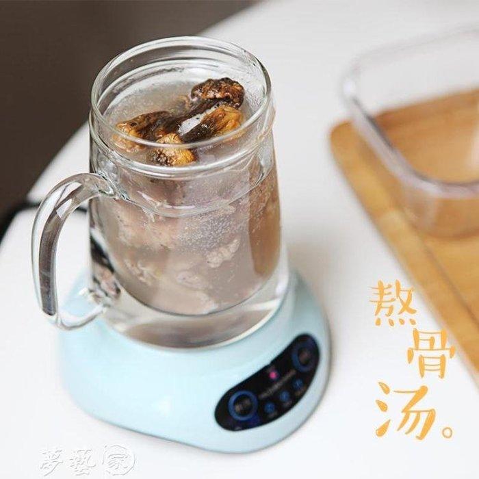 養生壺 迷你燕窩壺隔水燉盅養生壺全自動加厚玻璃營養多功能煮黑茶