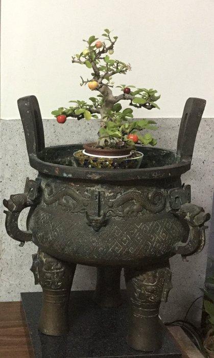 【錦福齋】盆景與春秋戰國之青銅器