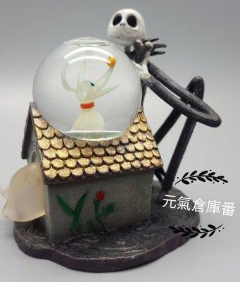 【售完-絕版品】25年的老古董 手工 波麗 水晶球 雪花球 聖誕夜驚魂 傑克 捷克 JACK 骷髏 骨頭