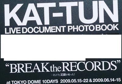 [KAT-TUN LIVE DOCUMENT PHOTO BOOK ]9成5新,A4大小精裝硬皮寫真輯,附贈另一本寫真書