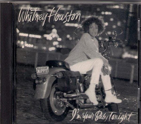 惠妮休斯頓  親愛的今夜屬於你 - I m Your Baby Tonight (1990) -二手珍品CD(託售)